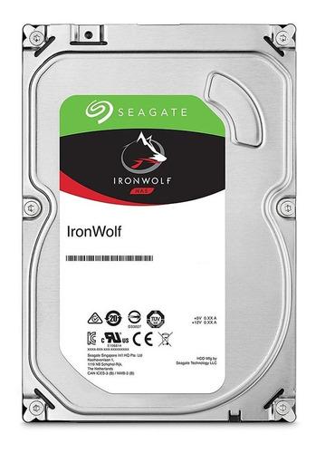 hd interno nas seagate 2tb ironwolf 3.5  sata 6gbs 5900rpm - st2000vn004