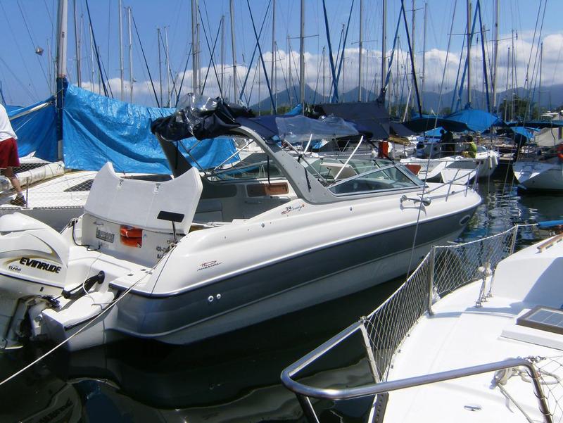 hd marine 26 pés cabinada