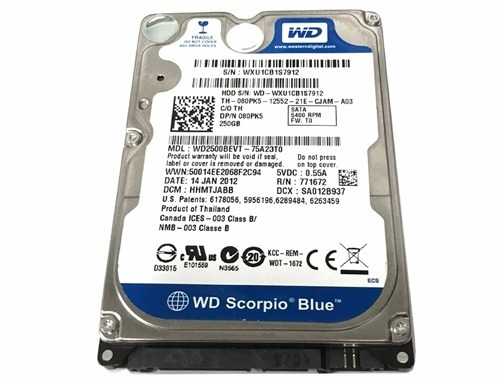 WESTERN DIGITAL WD2500BEVT DRIVER DOWNLOAD