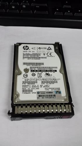 hd original hp sas 300gb 10k - p/n: 641552-001