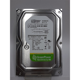 Hd Sata 320gb 7200 Rpm P/ Pc Desktop Recertificado Wd Green