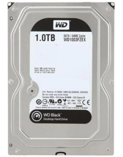 hd sata3 3,5 pol. 1tb wd black wd1003fzex 64mb cache