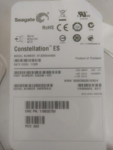 hd seagate 2tb sas 3.5 modelo st32000444ss p/n 9jx248-031
