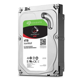 Hd Seagate Desktop 4tb 4000gb Ironwolf  64mb Cache