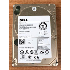 Hd Servidor Dell R710 600gb 10k Sas 9wg066-150 St600mm0006