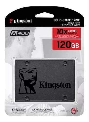 hd ssd 120 gb sata 3 kingston a400 500 mb/s