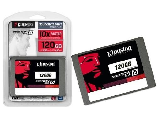 hd ssd 120 gb sata 3 kingston v300 - 450 mb/s (10x + rápido)
