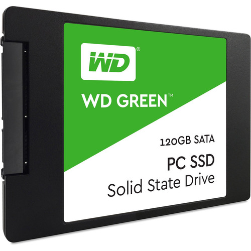hd ssd 120gb western digital green sata 2.5 pronta entrega
