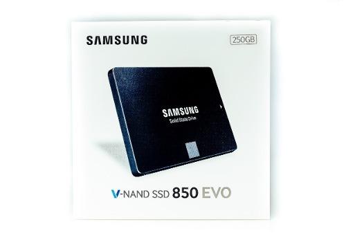 hd ssd 250gb samsung 850 evo sata3 6gb/s 2.5 540mb/s