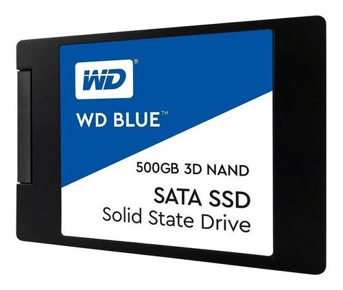 hd ssd 500gb western digital blue sata3 notebook pc 7mm 2.5