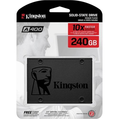 hd ssd kingston 240gb a400  6gb/s ssdnow sata 3 original