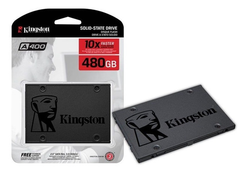 hd ssd kingston 480gb sata 6gbs 2.5 pol lacrado a400 500mbs