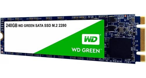 hd ssd m.2 m2 sata wd green 240gb 2280 wds240g2g0b novo