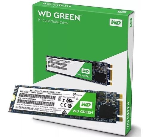 hd ssd m.2 m2 sata wd green 480gb 2280 wds480g2g0b