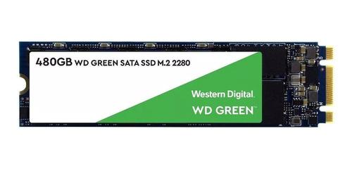 hd ssd m.2 m2 sata wd green 480gb 2280 wds480g2g0b novo