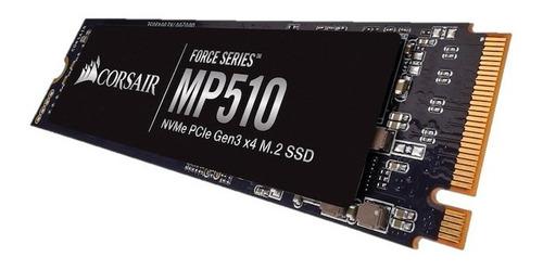 hd ssd m2 nvme corsair mp510 240gb  force series 3100mb/s