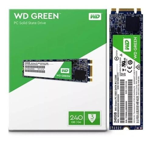 hd ssd m.2 wd green  240gb notebook pc