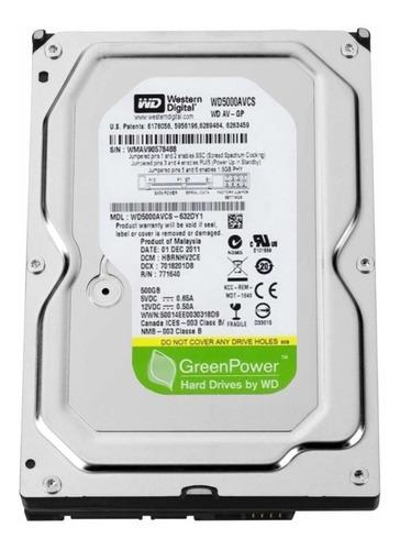 hd wd 500 gb greenpower pc dvr novo lacrado