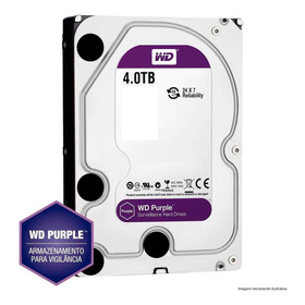 Hd Western Digital 4tb Purple (vigilância) 4 Tb
