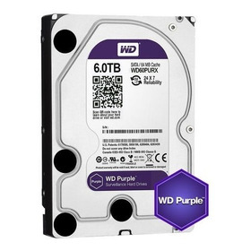Hd Western Digital 6tb Purple (vigilância) 6 Tb