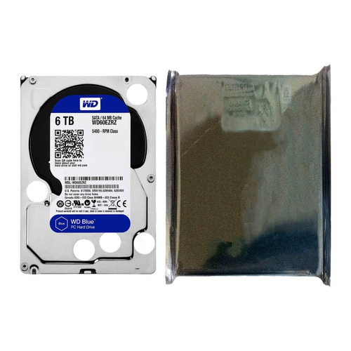 hdd 3.5 wd blue 6tb 5400rpm 64mb sata 3.0