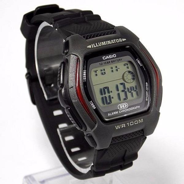 8971f06ad5c Hdd-600 1av Relógio Casio Bateria 10anos 100m Original