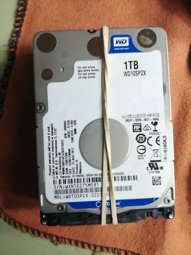 hdd de 750gb para notebook o pc, instalado con win 10