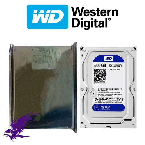 hdd wd blue 500gb 3.5'' 25.4mm 7200rpm sata 3.0 - 6gb/s