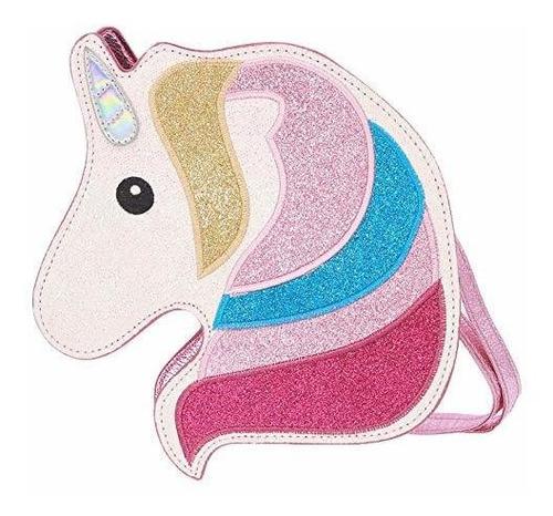 hde bolso bandolera con purpurina 3d para adolescentes niñas