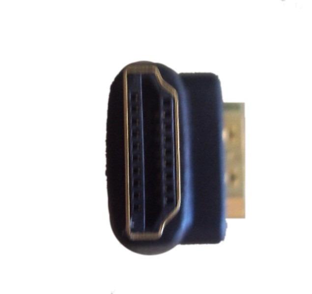 Hdmi Cople Union Adaptador Conector Hembra Macho 90 Grados