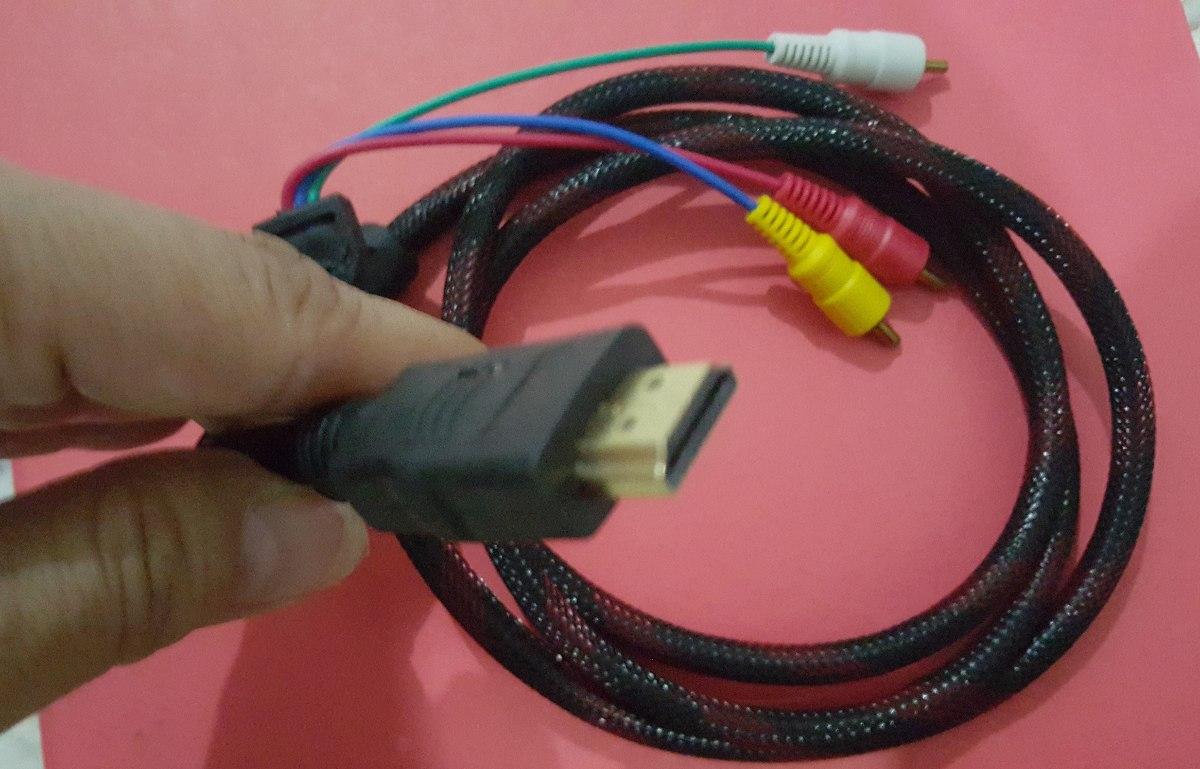 Cable Adaptador Hdmi A Rca Convertidor Pc Laptop 150