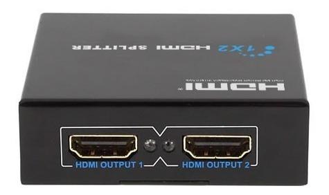 hdmi splitter 1x2 puertos amplificador de video 1080p hd tv