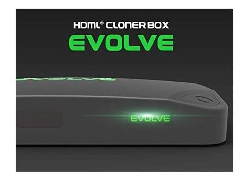 hdml-cloner box evolve, admite 2 entradas hdmi y entrada de