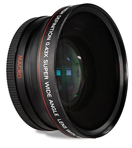hdstars 58mm 0.43x lente gran angular y macro primer plano