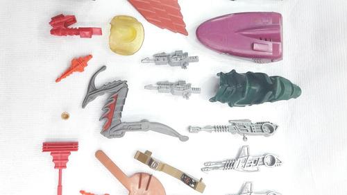 he man accesorios land shark stridor rotar laser bolt 80's