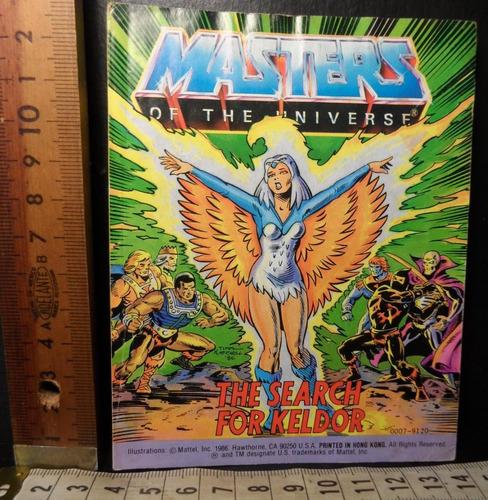 he man comic 5 vintage mattel, original de los años 80s
