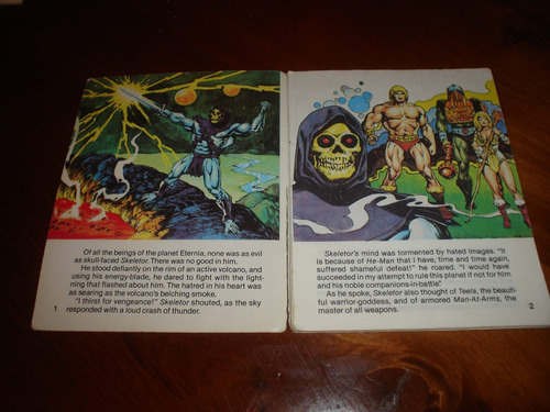 he man revista comic año 1981 vengeance of skeletor