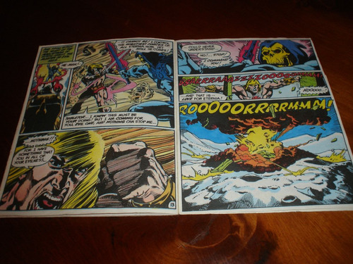 he man revista comic año 1982 the magic stealer