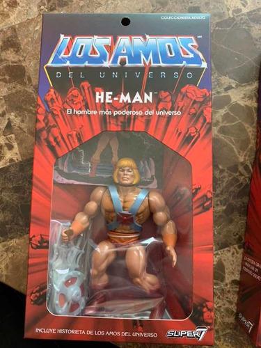 he-man súper 7 versión amos del universo