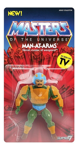 he-man vintage man-at-arms motu figura super7