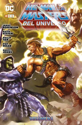 he-man y los masters del universo v.1 ecc comics robot negro