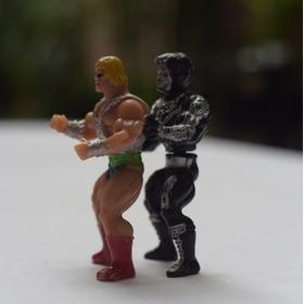 He-man Y Skeletor Bootleg Mexicano 80´s Vintage - Rarísimos