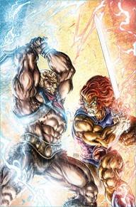 he-man/thundercats paperback dc 2017 compilación comics