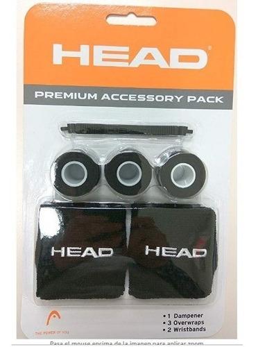 head premiun pack muñequeras antivibrador y grip