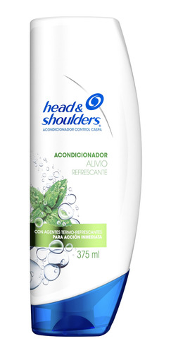 head & shoulders alivio refrescante acondicionador 375ml