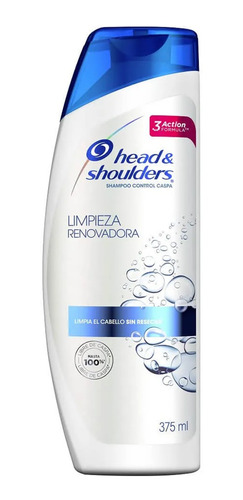 head & shoulders limpieza renovadora 375ml sha