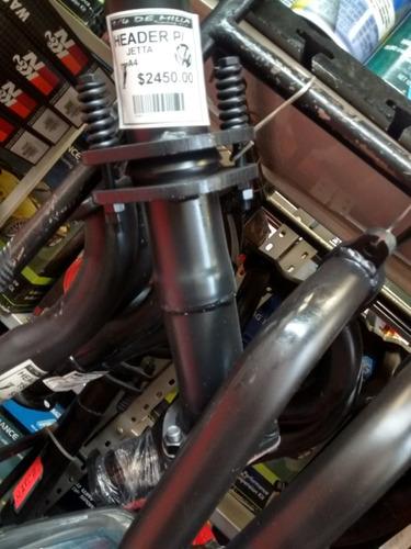 headers ponce racing + hps sonido p/ jetta a4 02-15 2.0