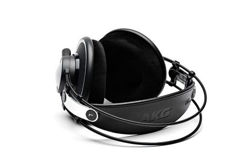 headphone akg k702 preto - profissional estúdio - novo