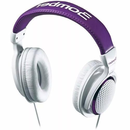 headphone bomber violeta branco hb01 bomber
