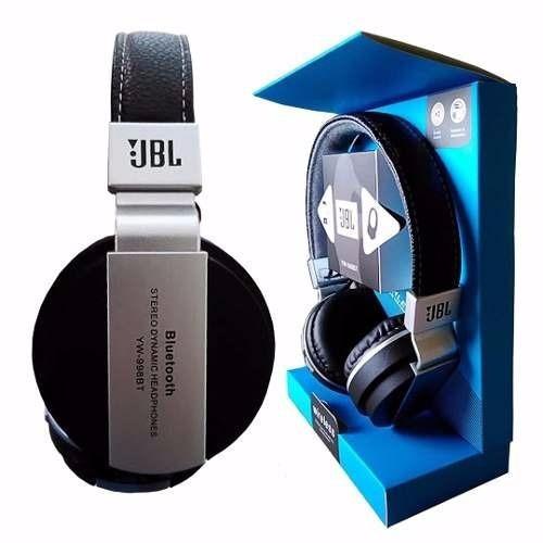 headphone em couro bluetooth yw-998bt importado